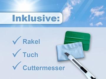 Graz Design 980158_90x57 Sichtschutzfolie Fenstertattoo Fensteraufkleber Deko fr Badezimmer Fisch Blasen Unterwasser (Gre=90x57cm) -