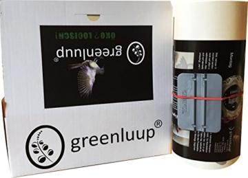 greenluup ® Wandtattoo Eule Eulen in Schwarz der frühe Vogel kann mich mal -