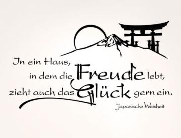 I-love-Wandtattoo 11479 Wandtattoo Spruch -