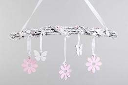 Niedlicher Fensterhänger ~ Blumen Schmetterlinge ~ 50 cm Fenster Deko zum Hängen -