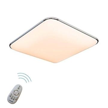 SAILUN 24W Dimmbar Ultraslim LED Deckenleuchte Modern Deckenlampe ...