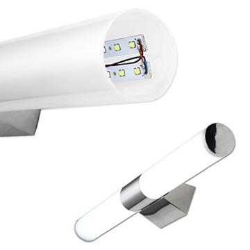 Vingo® 24W Acryl Spiegelleuchte LED Badleuchte IP20 2160LM Schranklampe für Badezimmer,FARBE: KaltWeiß -