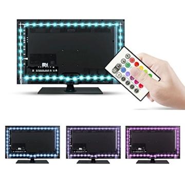 tv hintergrundbeleuchtung usb led leisten f r 30 bis 40 zoll fernseher flachbildschirm. Black Bedroom Furniture Sets. Home Design Ideas