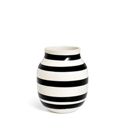 Kähler Design - Vase - Omaggio - Keramik - Schwarz (20cm) - 1