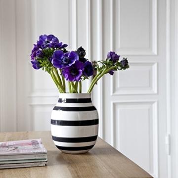 Kähler Design - Vase - Omaggio - Keramik - Schwarz (20cm) - 2