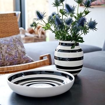 Kähler Design - Vase - Omaggio - Keramik - Schwarz (20cm) - 4