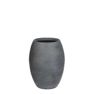 Mica decorations 240676 Vase, Vera, grau - 1