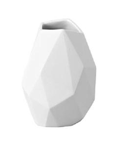 """Rosenthal 14270-100102-26009 Miniaturvase """"Surface"""" aus weißem Porzellan, Höhe 9 cm - 1"""