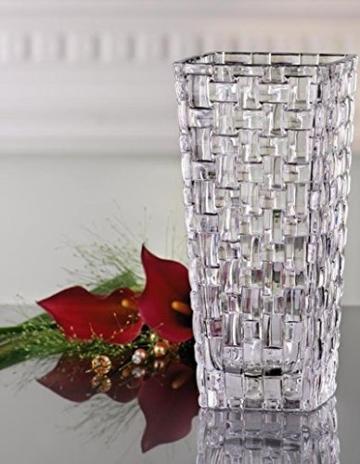 Spiegelau & Nachtmann, Vase, Kristallglas, 20 cm, 0082088-0, Bossa Nova - 3