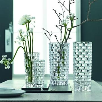 Spiegelau & Nachtmann, Vase, Kristallglas, 20 cm, 0082088-0, Bossa Nova - 5
