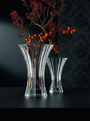 spiegelau nachtmann vase kristallglas 21 cm 0080500 0 saphir dekoideen online finden. Black Bedroom Furniture Sets. Home Design Ideas