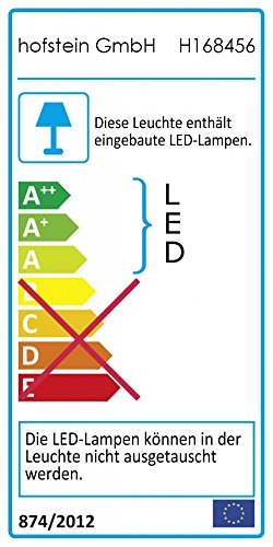 Bad Deckenlampe Sora Wood mit warmweißem Licht in Holzoptik - Deckenstrahler für Badezimmer - Flur - Küche - Innenlampe mit LED-Licht in schickem Holz-Dekor - 6