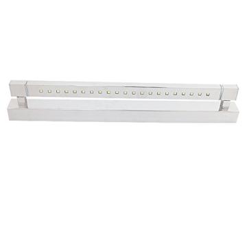 ELINKUME 5W 21 LEDs SMD 5050 Edelstahl LED Spiegel Licht Wandleuchte Badleuchte Bad Badlampe Kaltweiss - 2