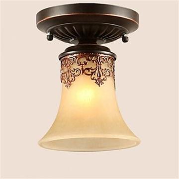 JJ Moderne LED-Deckenleuchten YL Kronleuchter Pendelleuchten LED Vintage Deckenlampen klassische rustikale Lodge Vintage Retro Laterne Wohnzimmer Schlafzimmer Esszimmer , warm Weiß-(220V-240V) - 1