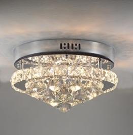 SFLGMF Moderne Kristall LED Deckenleuchte, Schlafzimmer Licht, Wohnzimmer Licht, Korridor Deckenleuchte - 1