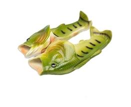 TININNA Unisex Lustige Hausschuhe Anti Skid Fisch Muster Hausschuhe für den Strand Bad Flip Flops Schuhe für Kinder Erwachsene - 1