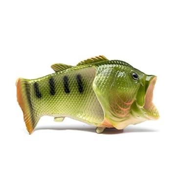 TININNA Unisex Lustige Hausschuhe Anti Skid Fisch Muster Hausschuhe für den Strand Bad Flip Flops Schuhe für Kinder Erwachsene - 5