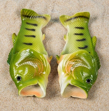 TININNA Unisex Lustige Hausschuhe Anti Skid Fisch Muster Hausschuhe für den Strand Bad Flip Flops Schuhe für Kinder Erwachsene - 7