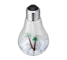 BerryKing Healthbulb 400 ml Diffiuser Lufterfrischer Luftbefeuchter Duftzerstäuber Raumluftreiniger Raumbefeuchter Humidifier mit LED für Wohnzimmer, Schlafzimmer, Büro - 1