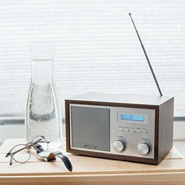 Blaupunkt RXD 180 DAB+ Digital Radio | Küchen-Radio mit Bluetooth | Aux In | UKW/FM  PLL Radio mit RDS | Alu-Optik und Drehregler - 2