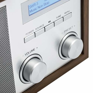 Blaupunkt RXD 180 DAB+ Digital Radio | Küchen-Radio mit Bluetooth | Aux In | UKW/FM  PLL Radio mit RDS | Alu-Optik und Drehregler - 3
