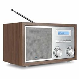 Blaupunkt RXD 180 DAB+ Digital Radio | Küchen-Radio mit Bluetooth | Aux In | UKW/FM  PLL Radio mit RDS | Alu-Optik und Drehregler - 1