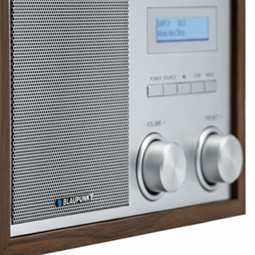 Blaupunkt RXD 180 DAB+ Digital Radio | Küchen-Radio mit Bluetooth | Aux In | UKW/FM  PLL Radio mit RDS | Alu-Optik und Drehregler - 4