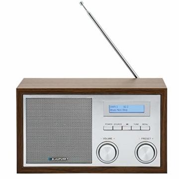Blaupunkt RXD 180 DAB+ Digital Radio | Küchen-Radio mit Bluetooth | Aux In | UKW/FM  PLL Radio mit RDS | Alu-Optik und Drehregler - 5