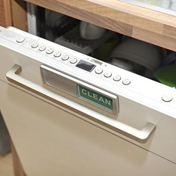 Charles Daily Dish Nanny | Magnet-Schild für Geschirrspüler | Blende Spülmaschine | Büro-Zubehör Organizer | Küchen Gadget - 2