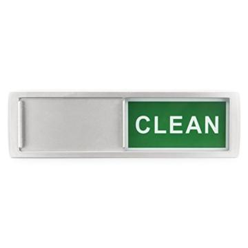 Charles Daily Dish Nanny | Magnet-Schild für Geschirrspüler | Blende Spülmaschine | Büro-Zubehör Organizer | Küchen Gadget - 4