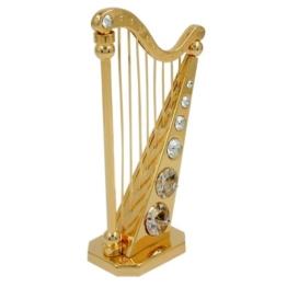 Dekoration Figuren Harfe mit 107 x 64 mm - 1