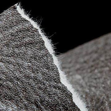 Europa Hanmero PVC Fernseher Hintergrund Leder Mustertapete Relief 3D-Wallpaper 0,53*10m 3 Farben für Schlafzimmer, Wohnzimmer, Hotel, Büro, Flur (Dunkel-grau) - 6