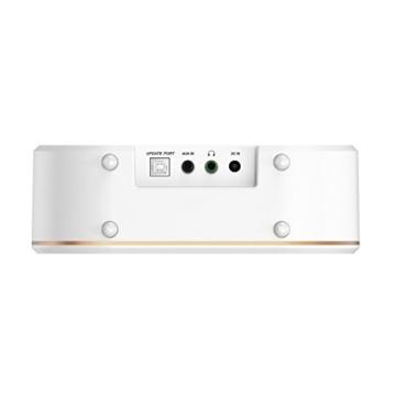 Hama IR350M WLAN Küchen-/Internetradio (Spotify, unterbaufähig, 2,4 Zoll Farbdisplay, WiFi-Streaming, 2 Weckzeiten, Multiroom, Klemmmontage ohne Bohren, gratis Radio-App, Eieruhr) weiß/kupfer - 8