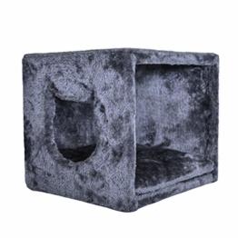 PetPäl Katzenhöhle für Regal | Design Katzen Kuschelhöhle Inklusive Kissen | Für Den Wohligen Schlafplatz Deiner Katze | Ideales Katzenbett für Regale wie IKEA Kallax & Expedit - 1