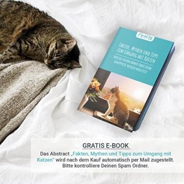 PetPäl Katzenhöhle für Regal | Design Katzen Kuschelhöhle Inklusive Kissen | Für Den Wohligen Schlafplatz Deiner Katze | Ideales Katzenbett für Regale wie IKEA Kallax & Expedit - 7