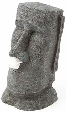 Rotary Hero - Moai Taschentuchbox / Taschentuchspender / Kosmetiktücherbox - 1