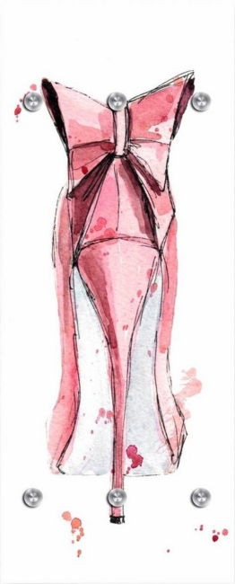 Garderobe »High Heel von hinten« 50/125 cm