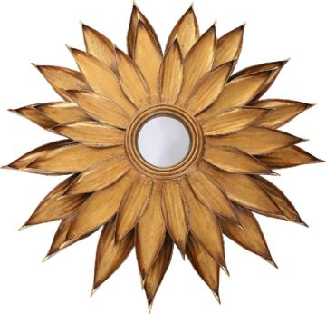 Home affaire Metall Wandspiegel »Lidia Gold«