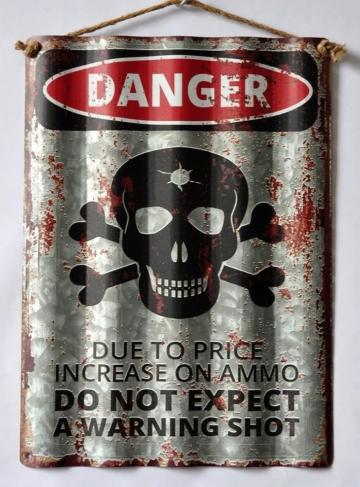 HTI-Line Blechschild »Danger«
