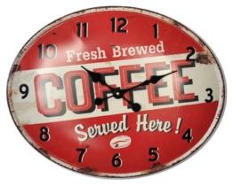 HTI-Line Wanduhr »Coffee«