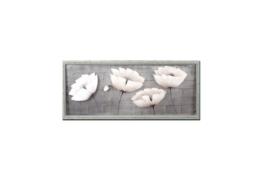 NTK-Collection Wandbild »Weiße Blüten«