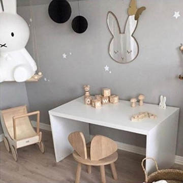 Fenteer Spiegel Aufkleber Wandsticker Wandaufkleber Deko für Kinderzimmer, Auswahl - # 3 - 6