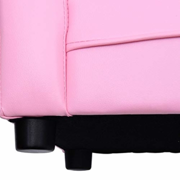 HOMCOM Kindersofa Kindersessel Sofa Couch Kinder Stuhl Kinderzimmer Softsofa Doppelsofa Einzelsofa Neu (Chaiselongue) - 7