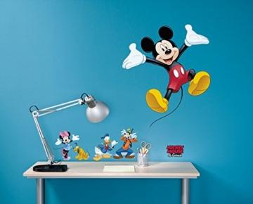 Komar - Disney - Deco-Sticker MICKEY AND FRIENDS - 50x70cm - Wandtattoo, Wandsticker, Wandaufkleber, Wandbild, Mickey Maus, Minnie Maus - 14017h - 2