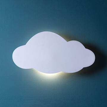 LED Wolke Schlafzimmer Nachtlicht warmweiß Timer batteriebetrieben Lights4fun - 1