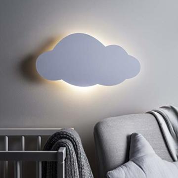 LED Wolke Schlafzimmer Nachtlicht warmweiß Timer batteriebetrieben Lights4fun - 2