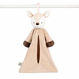 Nattou Windeltasche für Babyzimmer für Mädchen und Jungen - Fanny und Oscar - der Hirsch - 1