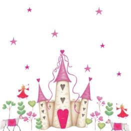 RoomMates - Riesenwandsticker Prinzessinnen-Schloss - 1