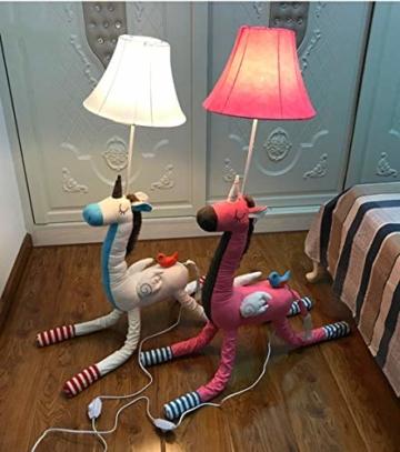 SMC Stehleuchten Kinderzimmer Cartoon Einhorn Stehlampe Schlafzimmer Moderne Minimalistische Nachttischlampe Kreative Wohnzimmer Studie Dekoration Vertikale Tischlampe - 2