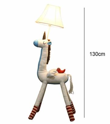 SMC Stehleuchten Kinderzimmer Cartoon Einhorn Stehlampe Schlafzimmer Moderne Minimalistische Nachttischlampe Kreative Wohnzimmer Studie Dekoration Vertikale Tischlampe - 4